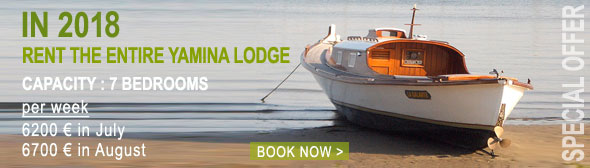 Rent the entire Yamina Lodge